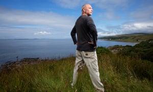 Prof David Reay's carbon farm in Kintyre. Photograph: Murdo Macleod/Guardian.