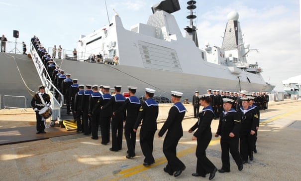Destroyers will break down if sent to Middle East, admits Royal Navy