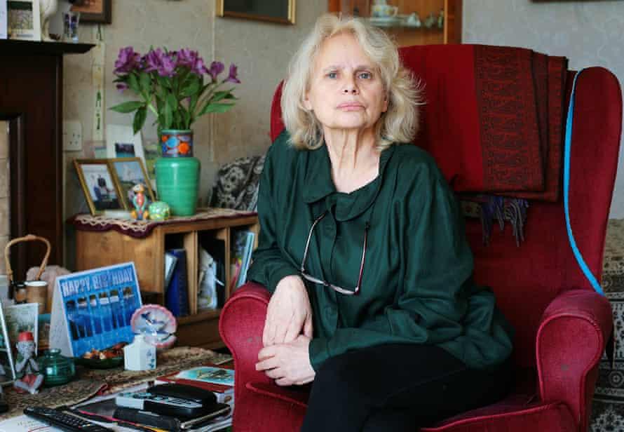 Retired biochemist Barbara Patel