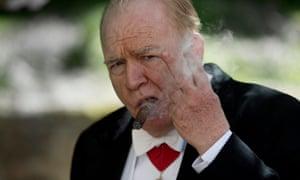 Brian Cox as Churchill
