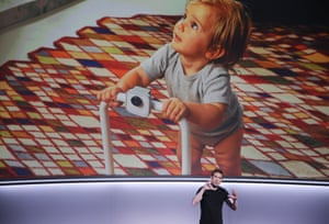 San Francisco, US Juston Payne introduces the new Google Clips camera which takes pictures for you