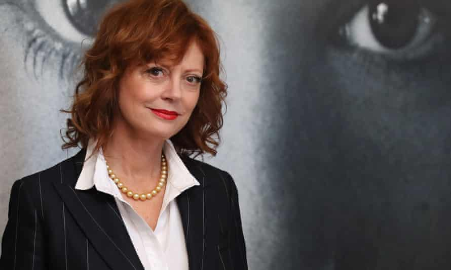 'What makes a sex act really interesting is how that first touch happens' … Susan Sarandon in Cannes.