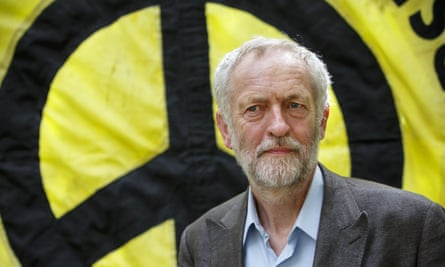 The least militaristic person to lead a major British party since the 1930s ... Jeremy Corbyn. Photograph: Tolga Akmen/LNP/Rex/Shutterstock
