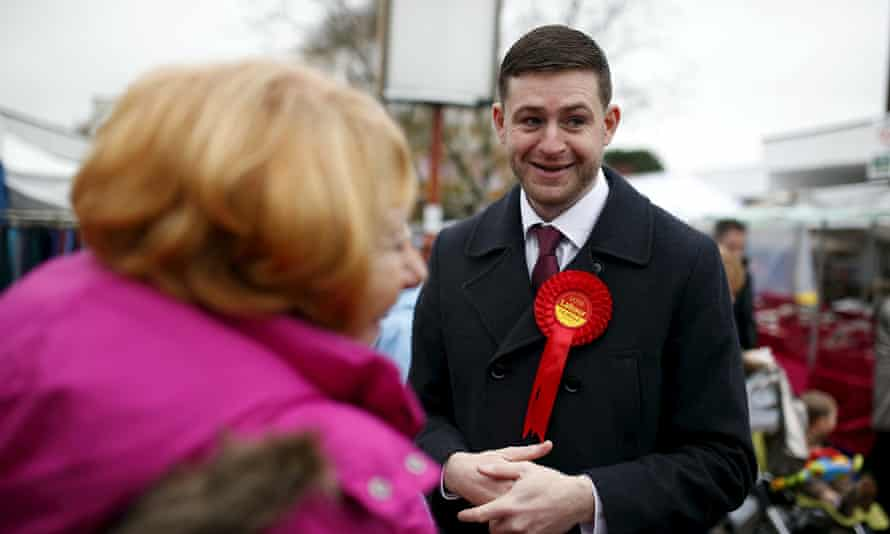 Jim McMahon, Labour candidate in Oldham West and Royton byelection