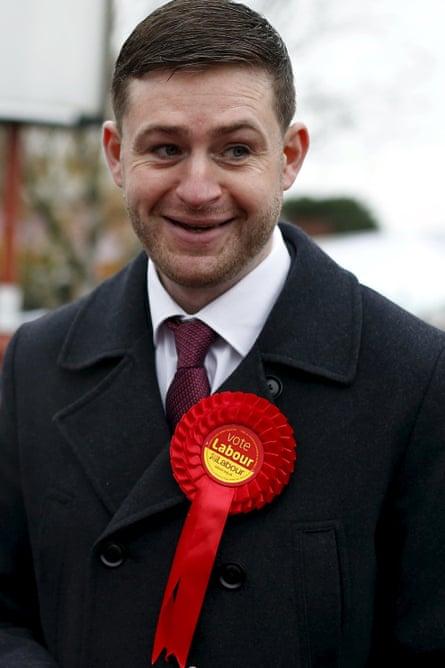 Portrait of Labour's Jim McMahon