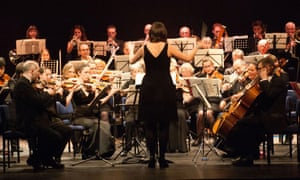'When the conductor stops, stop playing!' North Devon Sinfonia, one of the finalists in the BBC's Great Orchestra Challenge