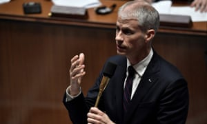 France's culture minister Franck Riester has become the first high-profile French politician to test positive for Covid-19.