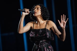Corinne Bailey Rae performs in the Royal Albert Hall.