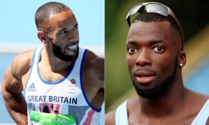 James Ellington, left, and Nigel Levine were hit head-on by a car on the wrong side of the road in Tenerife on Tuesday evening.