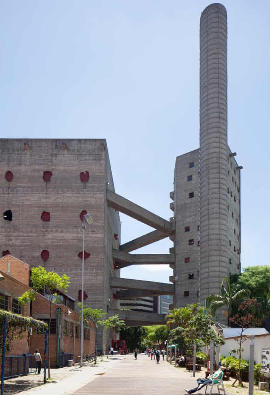 SESC Pompéia, São Paulo, Brazil.