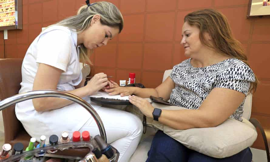 Manicurist Naara Lippel: 'I told a client she was a victim of domestic violence and that things could get worse. She left him and told me I had helped her.'