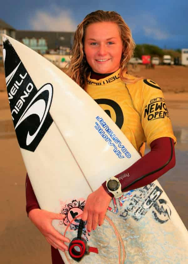 Champion surfer Tassy Swallow received threatening messages from James Casbolt.