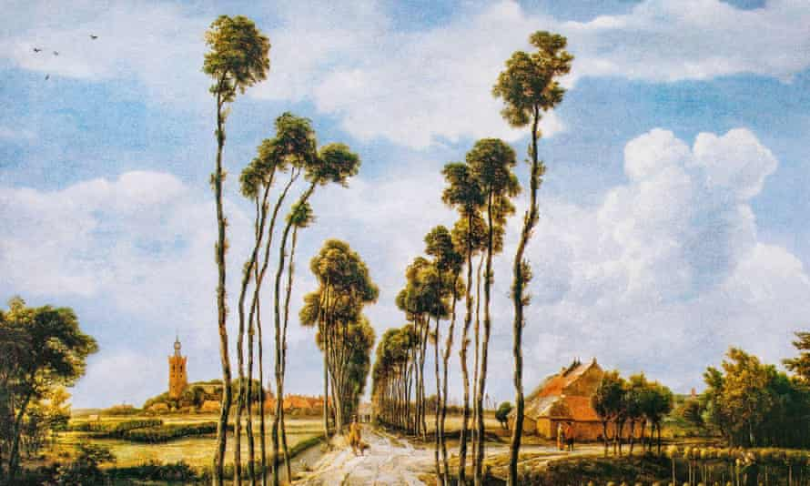 'You've been very clear about what you want: a dog, a garden, the ocean. Nobody could tell you that these are bad things to want.' Painting: The Avenue at Middelharnis (1689) by Meindert Hobbema.
