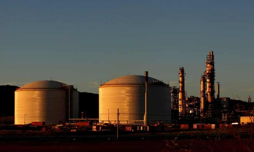 The LNG development in WA's Pilbara region
