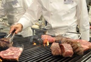 Ikinari Steak restaurant , Japan
