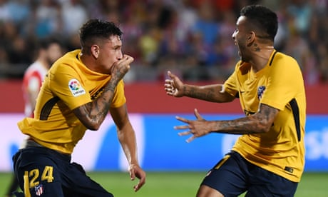 European roundup: Atlético rally to draw after Griezmann red at Girona