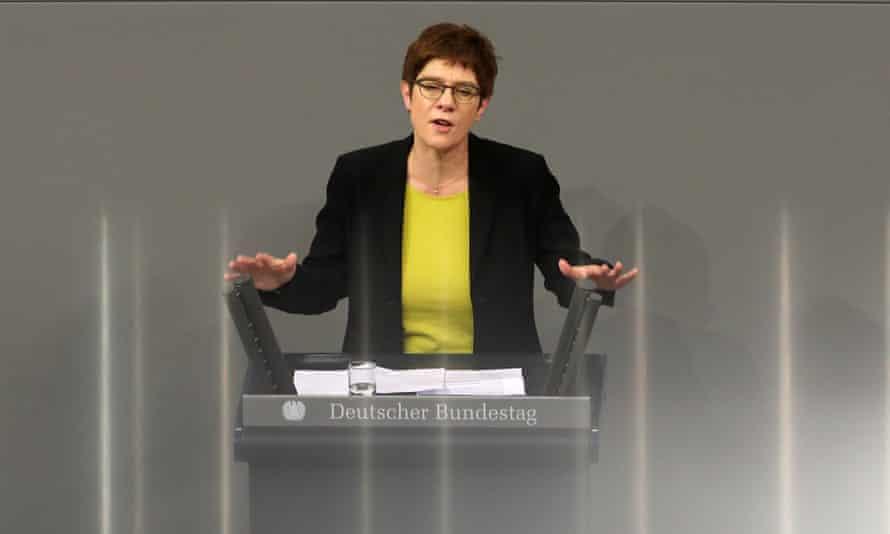 CDU's Annegret Kramp-Karrenbauer