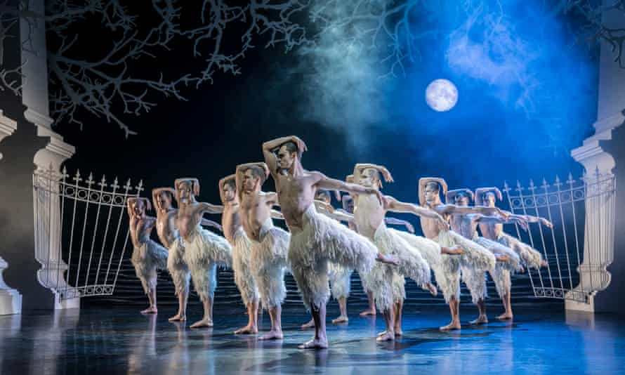 Making the most of an opportunity ... Matthew Bourne's Swan Lake, as seen on Sky Arts.