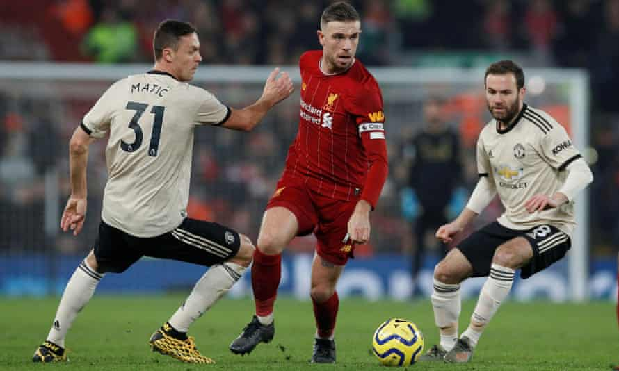 Liverpool captain Jordan Henderson has taken his game to a new level this season following their Champions League triumph.