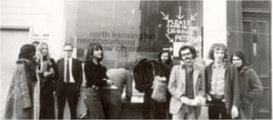 North Kensington Law Centre started life in 1970, occupying a former butcher's shop.