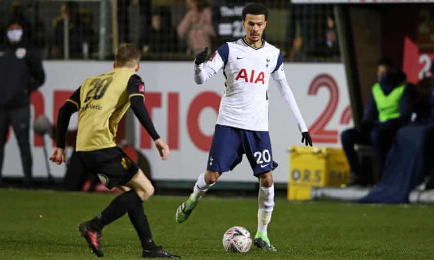 Dele Alli has not started a Premier League game since the opening day of the season and was thought to be keen on a loan move to PSG.