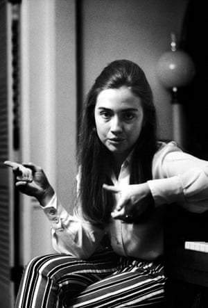 Hillary Clinton in 1969