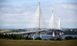 The Queensferry Crossing bridge opens to traffic today.