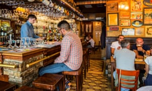 Another of Bruges's big attractions: Belgian beer.