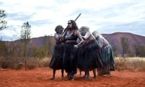 Naked aborigines