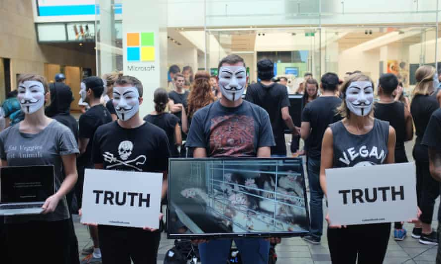 The Cube of Truth at Martin Place