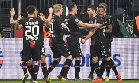 European roundup: Bayern stunned by Leverkusen, Dortmund held by Frankfurt