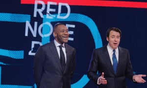 Sir Lenny Henry and Jonathan Ross present Comic Relief.