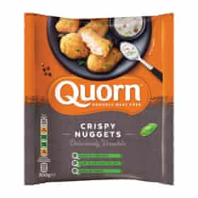Quorn Crispy Nuggets.