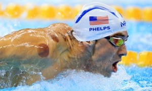 Michael Phelps won gold in the 4x100m freestyle relay on Sunday