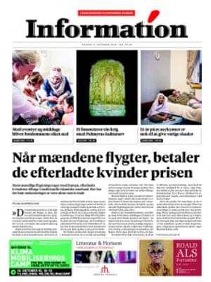 Dagblad Information - Refugee issue
