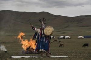 A fire ritual