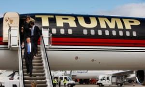 Donald Trump private jet