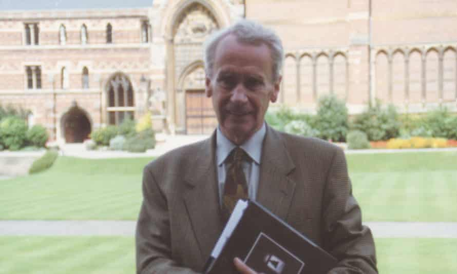 Christopher Tolkien resigned as a fellow of New College, Oxford, to focus on his father's literary legacy, without regrets: 'My father's invented languages are of more interest than the rather well-tramped field of Anglo-Saxon'