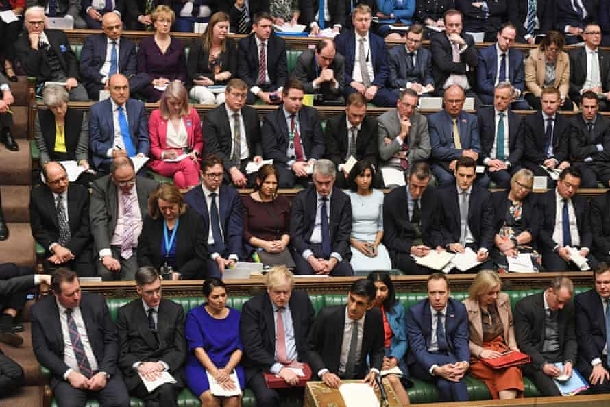 Rishi Sunak delivering his Budget in the House of Commons, 11 March