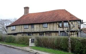 Smallhythe Place in Kent, built on Ellen Terry's land.