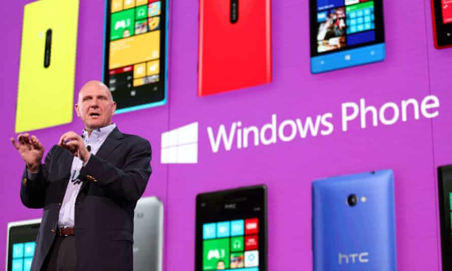Windows Phone evolved from early Pocket PCs, but never really took off, despite Microsoft's best efforts.