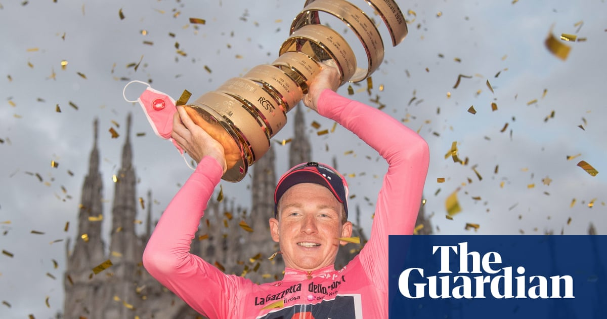 Tao Geoghegan Hart, from bike shop worker to British Giro dItalia winner