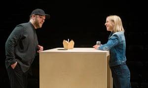 Meet cute … or not. Sam Troughton and Claudie Blakley in Stories.
