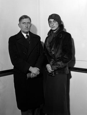 Escape … Josef and Anni Albers on the SS Europa, arriving in New York in 1933.
