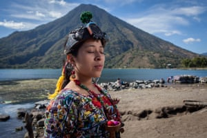 Sara Elisabeth Mesia, indigenous queen of Santiago Atitlán.