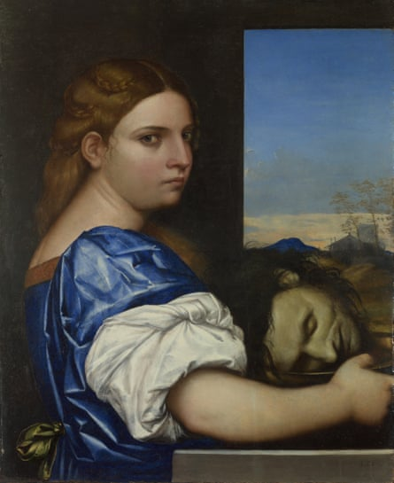 Sexually charged drama... The Daughter of Herodias, 1510.