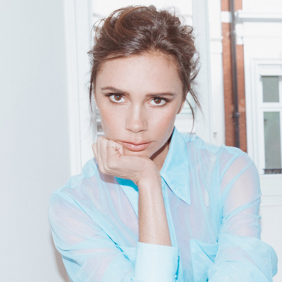 Victoria Beckham I Guess It Was A Sign Of Insecurity Wearing Very Tight Clothes Victoria Beckham The Guardian