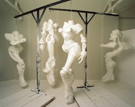 Cyborg W1-W4, 1998, by Lee Bul.