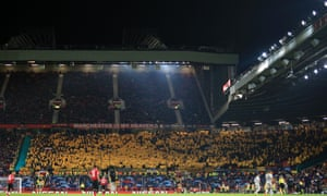 The Young Boys fans in yellow might be enjoying things more.