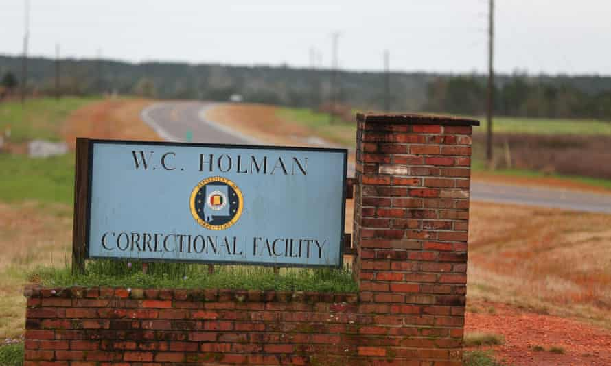 The William C Holman correctional facility in Alabama, which has earned a reputation as the nation's most violent prison.